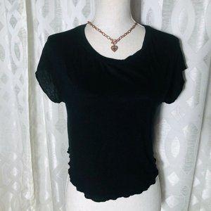 Brandy Melville Women Black one size Stretch Short